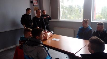 Wycieczka do PSP w Chojnicach