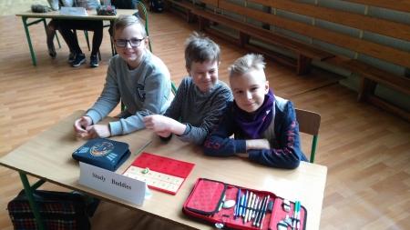 III Gminny Zespołowy Konkurs Języka Angielskiego dla klas 1-3