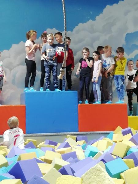 Wycieczka do Centrum Zabaw i Trampolin w Bydgoszczy