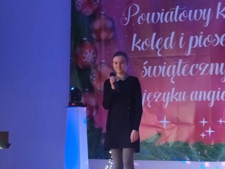 II Powiatowy Konkurs kolęd i piosenek świątecznych w j. angielskim