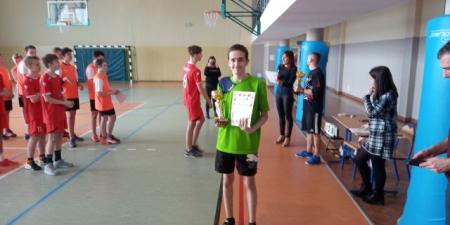 Gminny Turniej Piłki Koszykowej Chłopców