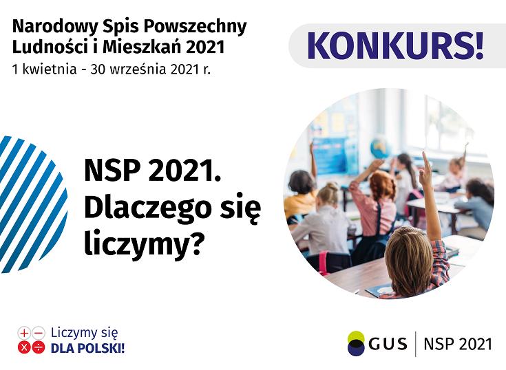 Konkurs ''NSP 2021. Dlaczego się liczymy?''