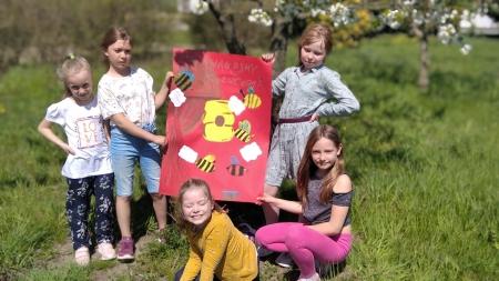 Pomagajmy pszczołom! Zajęcia świetlicowe