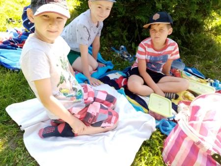 Piknik w klasie 0 b