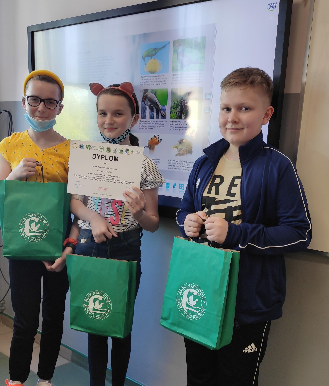 Nasz sukces w XXVI Gminnym Konkursie Ekologicznym