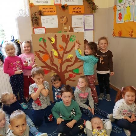 Dzień Drzewa w przedszkolu!